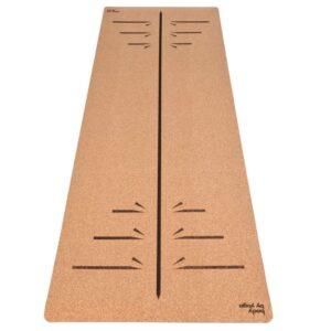 Luxury Cork Yoga Mat - Warrior
