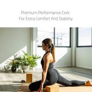 Luxury Cork Yoga Block Set - Stay Balanced