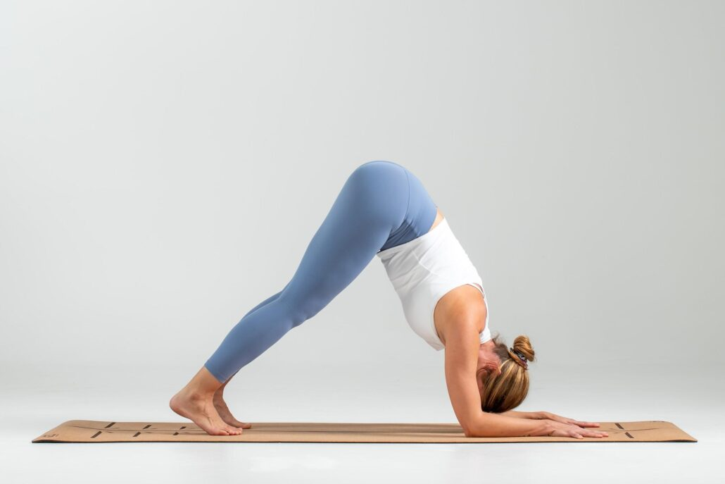 Downward Dog can be modified for sensitive or injured wrists