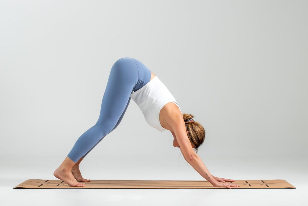 Straining or limitation in the backs of the legs or ankles