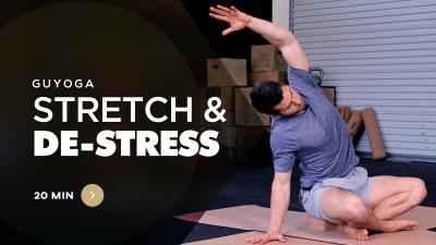 Yoga For Men Stretch