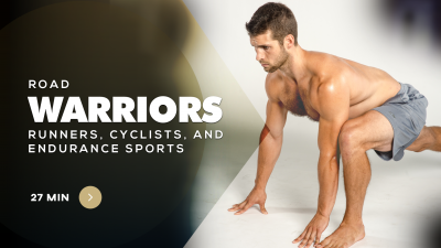 Warriors yoga for sports